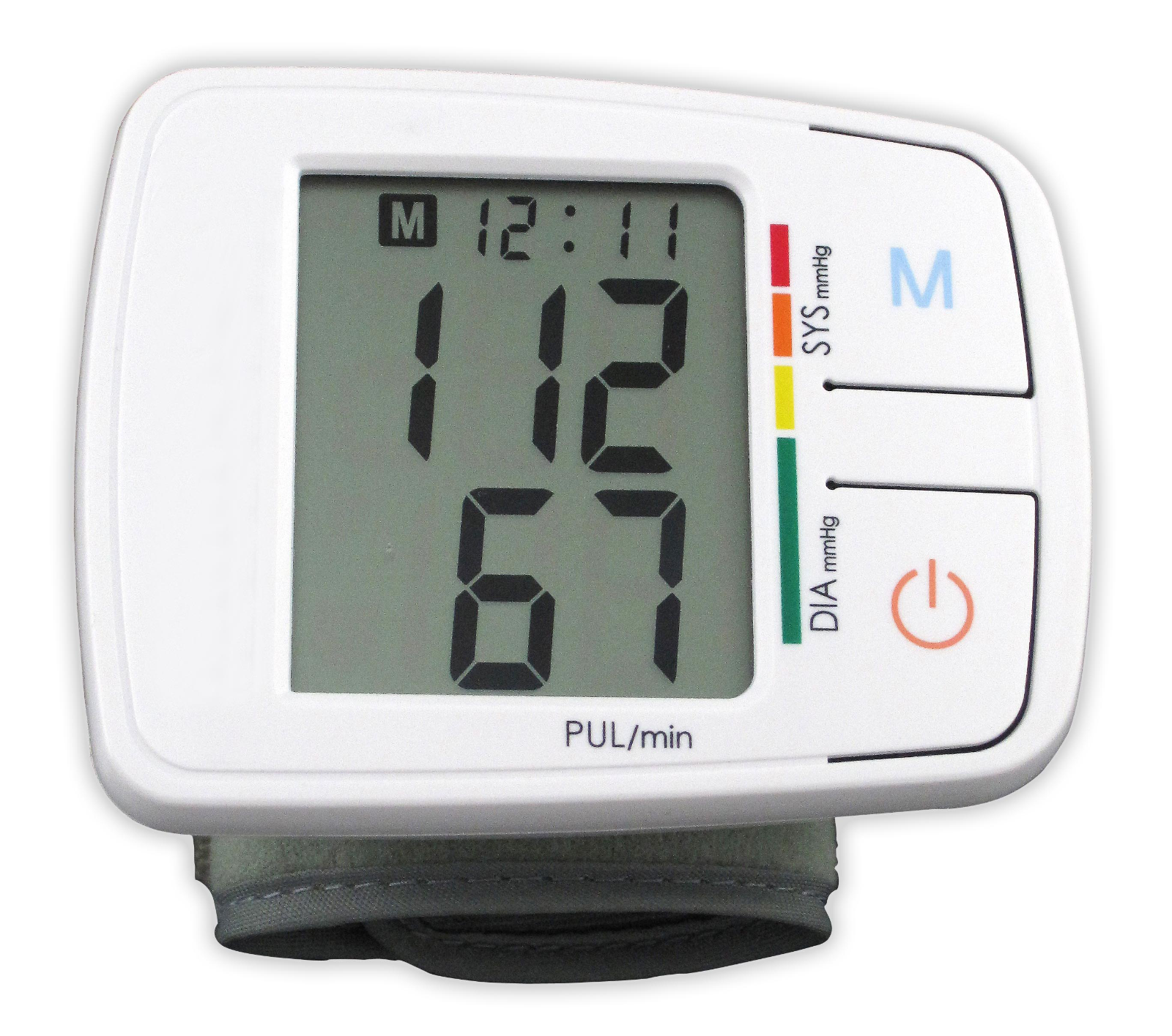 blood pressure monitor digital wrist bpm automatic