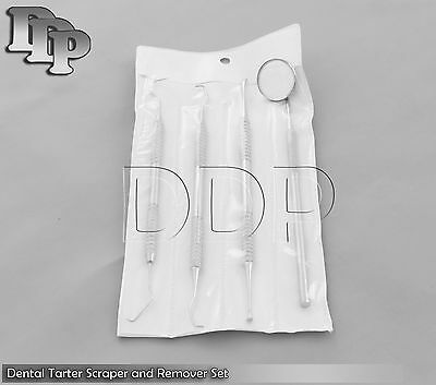 Dental Tartar Calculus Plaque Remover Tooth Scraper With Protective Pack Pr-104