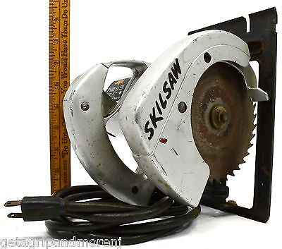 Briefly Used Skil 5-12 Compact Circular Saw Mo. 533 Type 3 Skilsaw Power Tool