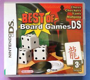 best of board games nintendo ds lite dsi games chess mahjong etc brand new uk ebay. Black Bedroom Furniture Sets. Home Design Ideas