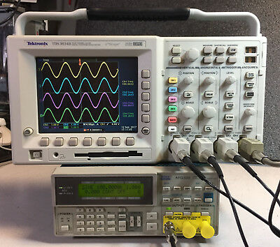 Tektronix Tds3054b 4 Ch Dpo Oscilloscope 500mhz 5gss Options