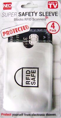 RFID Blocking Protection Sleeve for Credit Card - Best Travel Safety (Pack of (Best Rfid Protection Sleeves)