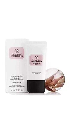 The Body Shop Skin defence Multi-Protection Lotion SPF50 40ml Brand New