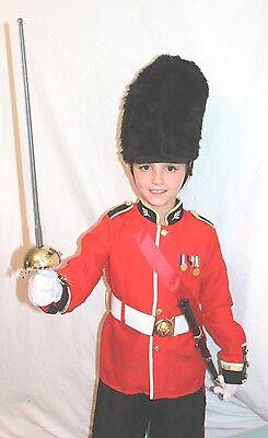 Britisch Schutz Spielzeug Soldat Prinz Reizend Nussknacker König Kinder-Kostüm - Spielzeug Soldat Kinder Kostüm