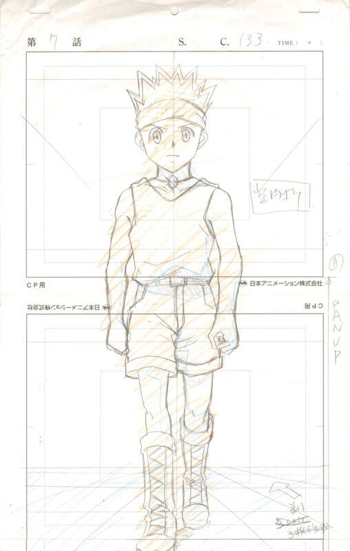 Anime Genga not Cel Hunter x Hunter #169
