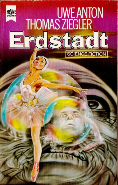 """Uwe Anton / Thomas Ziegler - """" ERDSTADT """" (1985) - tb"""