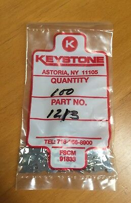 Keystone 1213 Pcb Terminal 5.21mm X 0.81mm 0.205 X 0.032 100pcs 1 Lot