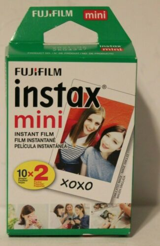 Fuji Fujifilm Instax Mini Twin Pack Instant Film 20 Films 2 packs of 10 Mini 8 9