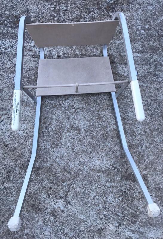 Vintage Sassy Seat Clip On Booster Feeding Seat Aluminum Frame....L@@k