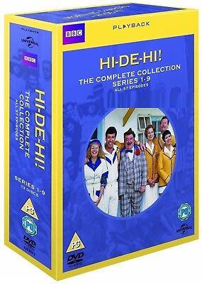 HI-DE-HI 1-9 (1980-1988) - The COMPLETE TV Seasons Series + Pilot R2 DVD not US