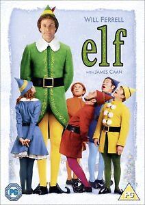 Elf [DVD] New Sealed Will Ferrell Classic Xmas Movie Fast Post