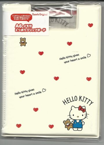 Sanrio Hello Kitty Clip Binder With Printed Notesheets Purse Size