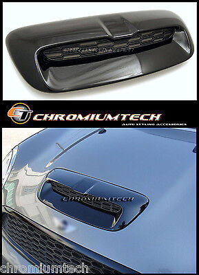 MK2 BMW MINI Cooper S/SD/JCW R55 E56 R57 BLACK Bonnet Hood Air Intake Scoop