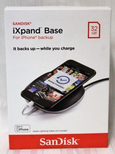 SanDisk iXPAND Base 32GB iPhone Backup SDIB20N