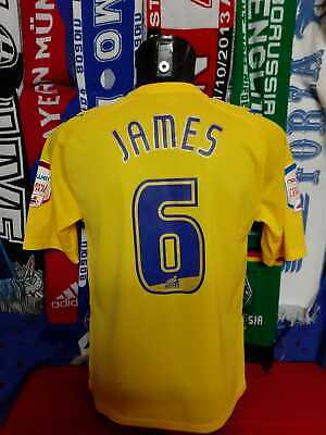 Maglia Calcio Preston North End Third 2010/11 Match Worn/Issued James Jersey image