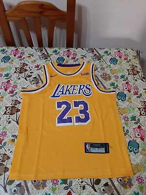 LEBRON CAMISETA DE LA NBA DE LOS LAKERS PARA NIÑOS. TALLA S,M,XL.