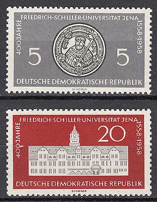 DDR 1958 Mi. Nr. 647-648 Postfrisch ** MNH