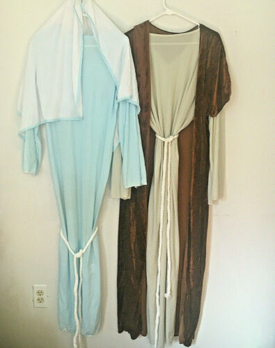 Costumes Lot Of 2 Biblical Times From The Bible & Lady Of Faith Adult Costumes