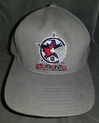NEW 2000 NHL All-Star Game in Toronto Canada Logo Hat Cap One Size Fits All (2000 Nhl All Star Game)