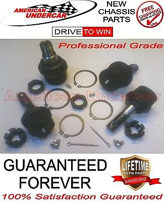 LIFETIME Upper & Lower 4 Ball Joint Kit for Ford F250 F350 4x4 Super Duty 99-16