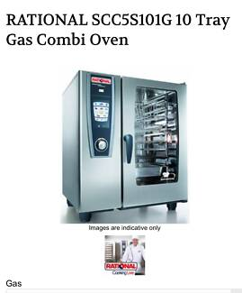 Rational Combi Oven 10 Tray