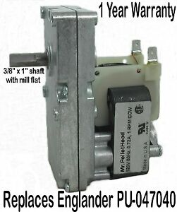 AUGER-MOTOR-for-ENGLANDER-PELLET-STOVE-1-RPM-CCW-Made-in-USA-PU-047040
