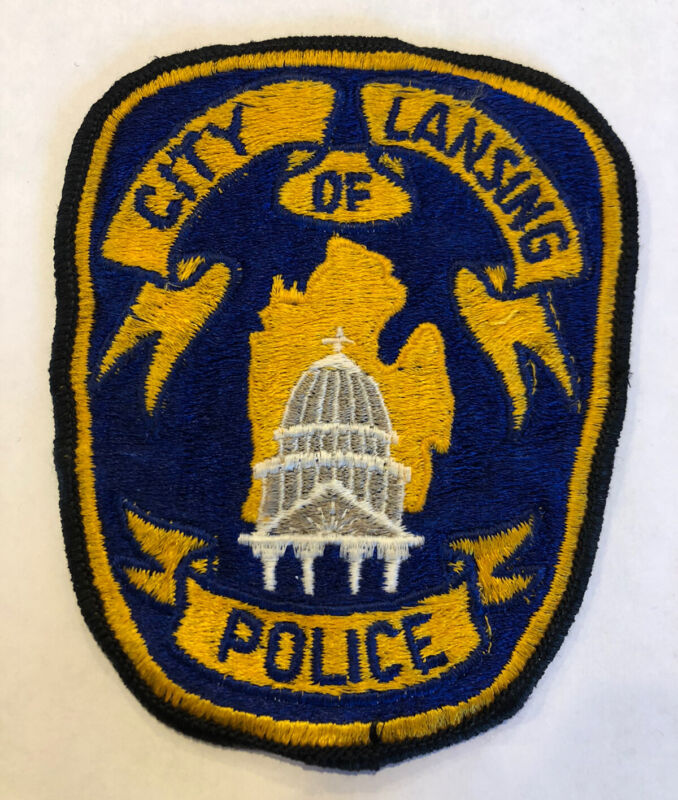 Lansing Michigan Police Patch
