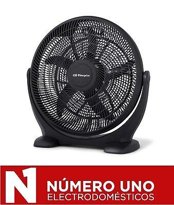 Ventilador de Suelo Orbegozo BF 0150, Negro, 80 W