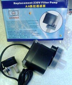 AA590A (220V) Replacement Water Pump - AA Aquarium