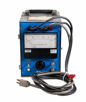 Calibrated Associated Research 411a Jr Hi-pot Tester 0-2.5 Kv Ac 5ma Full Load