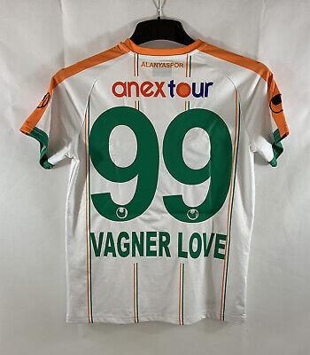 Alanyaspor Vagner Love 99 Third Football Shirt 2017/18 Adults Small UHLSport C2 image