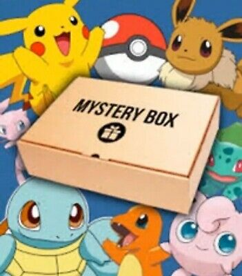 Pokemon Mystery Box - Booster Packs, Pokemon Cards, WOTC, PSA,Holos,Ex,Gx & More