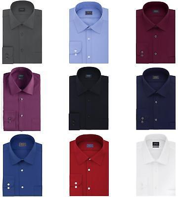 Arrow Big & Tall Dress Shirt Mens Regular-Fit Long Sleeve Casual Button -