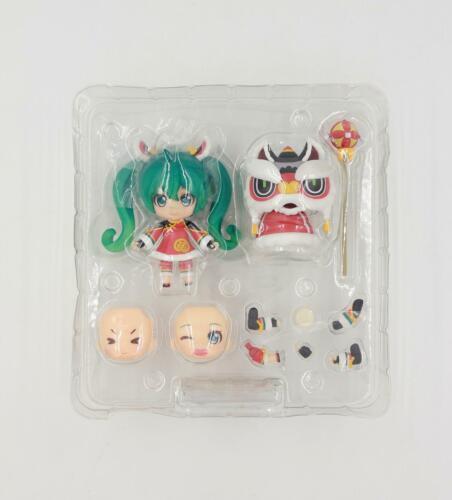 """Hatsune Miku Lion Dance Version 4"""" Cute Action Figure Toy Set BULK"""