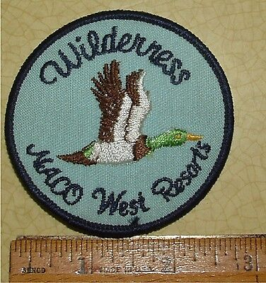 Wilderness Naco West Resorts Jacket Patch