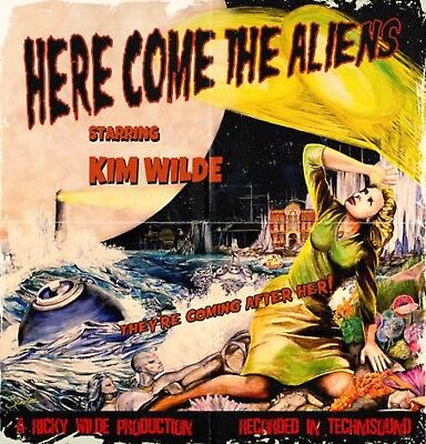Kim WIlde - Here Come the Aliens - New Red Vinyl LP - Limited Edition