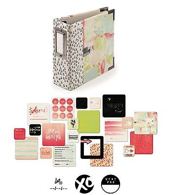 We R memory Keepers 4x4 Ring Album Kit LOVE NOTES -100cards ~62511-7 ()