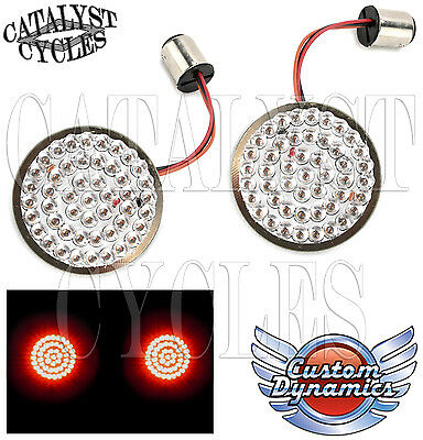 Custom Dynamics REAR Turn Signals for Harley LED Turn Signal & Brake Lights