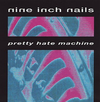 NINE INCH NAILS - Pretty Hate Machine Album Cover Art Print Poster 12 x 12