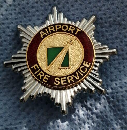 Airport Fire Service Airport Fire Brigade Cap Badge