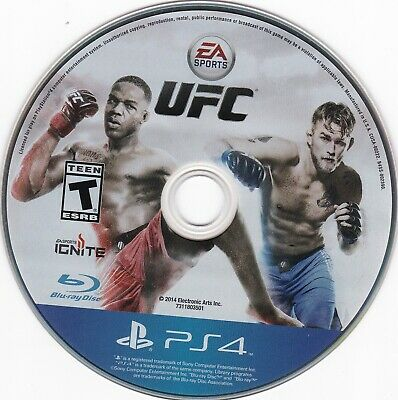 EA Sports UFC (Sony PlayStation 4, PS4, 2014) **DISC ONLY** for sale  Shipping to Nigeria