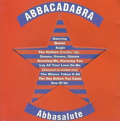 """ABBACADABRA – Abbasalute CD / Almighty Records  12"""" Long Version  ABBA Hits"""