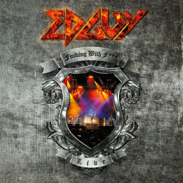 EDGUY - F**KING WITH FIRE: LIVE IN SAO PAOLO 2006: 2CD ALBUM SET (2009)