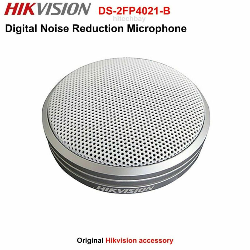Hikvision DS-2FP4021-B Digital Noise Reduction Microphone for IP Security Camera
