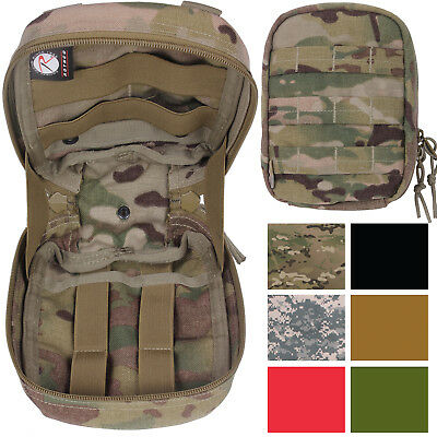 Trauma & First Aid Kit Pouch Medical Supply Small Tactical Case Bag -