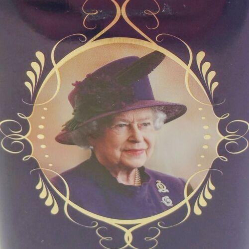Queen Elizabeth II Tea Tin. Empty tin only. Contains no tea.