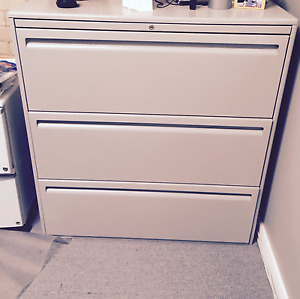 3 lateral drawer filing cabinet