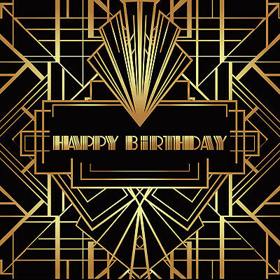 Great Gatsby Themed (The Great Gatsby Backdrop Gatsby Themed Birthday Party Photo Background Props)