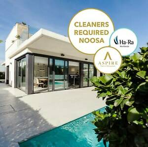 Chemical-Free Cleaning Positions available