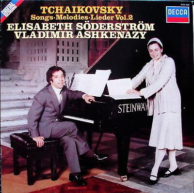 "TSCHAIKOWSKY ""Lieder Vol. 2"" - SÖDERSTRÖM - ASHKENAZY - NM-"